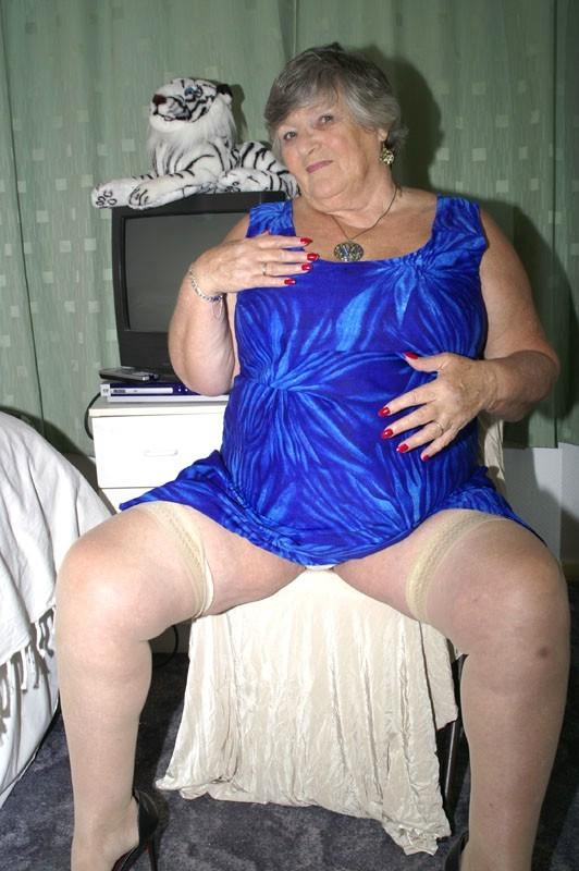 Fat granny slags