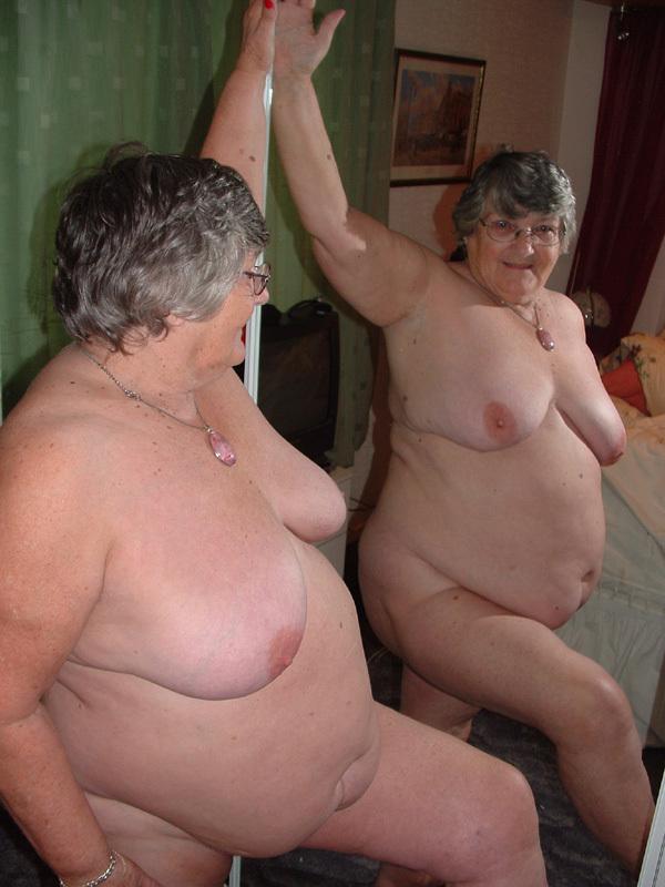 Nude grandmom videos