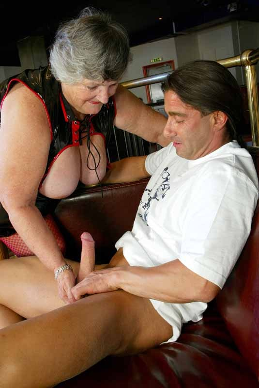 Wow is Grandma Libby in for a treat this week, she had super cock and UK  porn stud Super Marino from UK Road Trips come down to Newport in Wales to  give ...