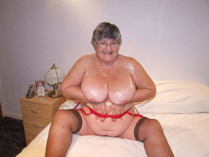 image Lewd granny is fucking son in law