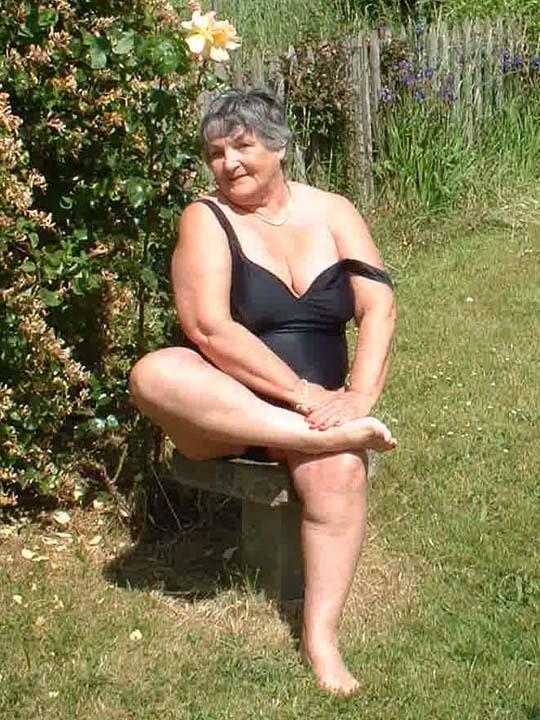 hot fat naked grandma